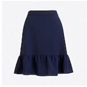 Jcrew Mercantile Flounce Skirt